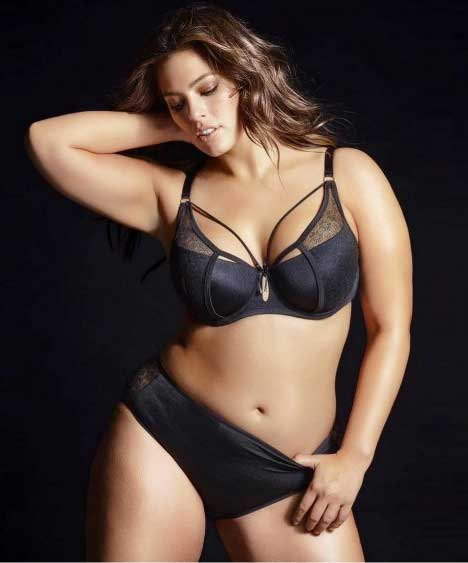 Lingerie grande taille Ashley Graham