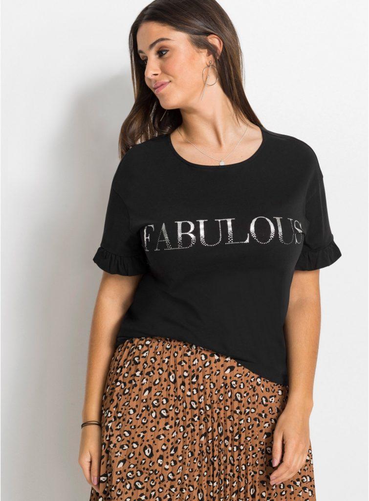 Fabuleuse - t-shirt à message réaliste ;)