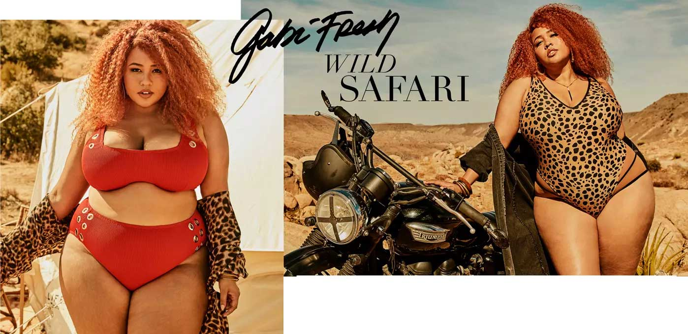 GabiFresh x Swimsuits For All: Wild Safari