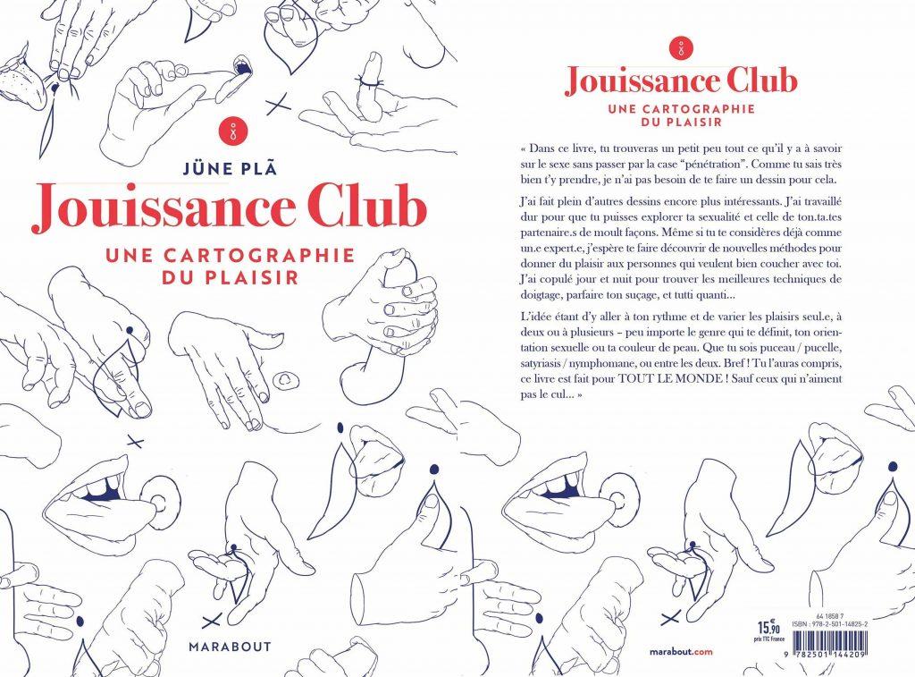 Jouissance club - livre - une cartographie du plaisir . idée cadeau saint valentin