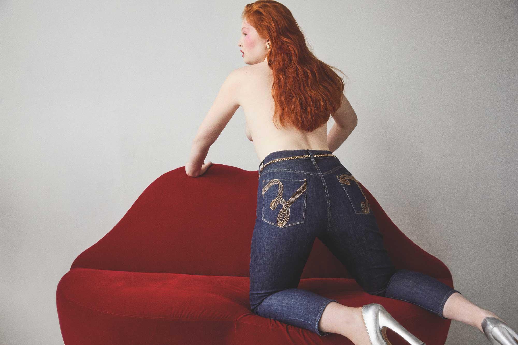 Tess McMillan pour TOMMYXZENDAYA collection.