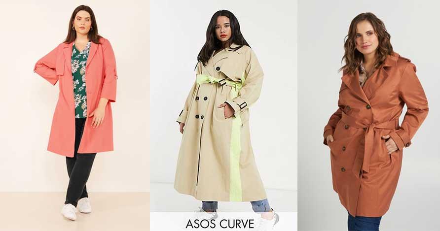 Trenchs coat grande taille : La veste de mi-saison idéale
