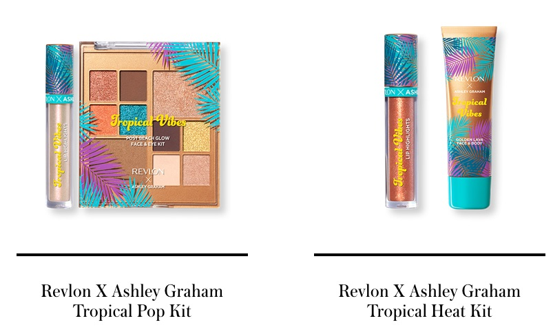Revlon X Ashley Graham  Tropical