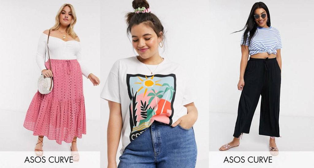 Vêtements grande taille durables  chez ASOS