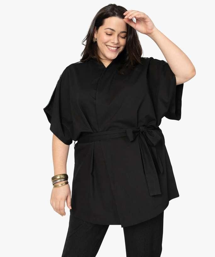 Vêtements grande taille confortables - kimono