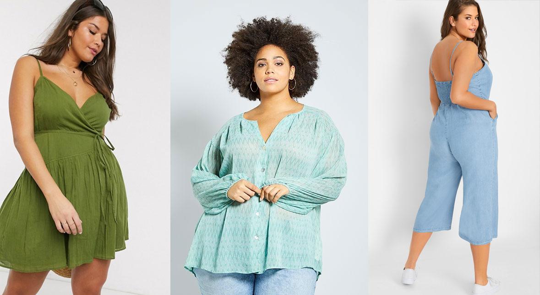 Vêtements grande taille durables, éthique et éco-responsable