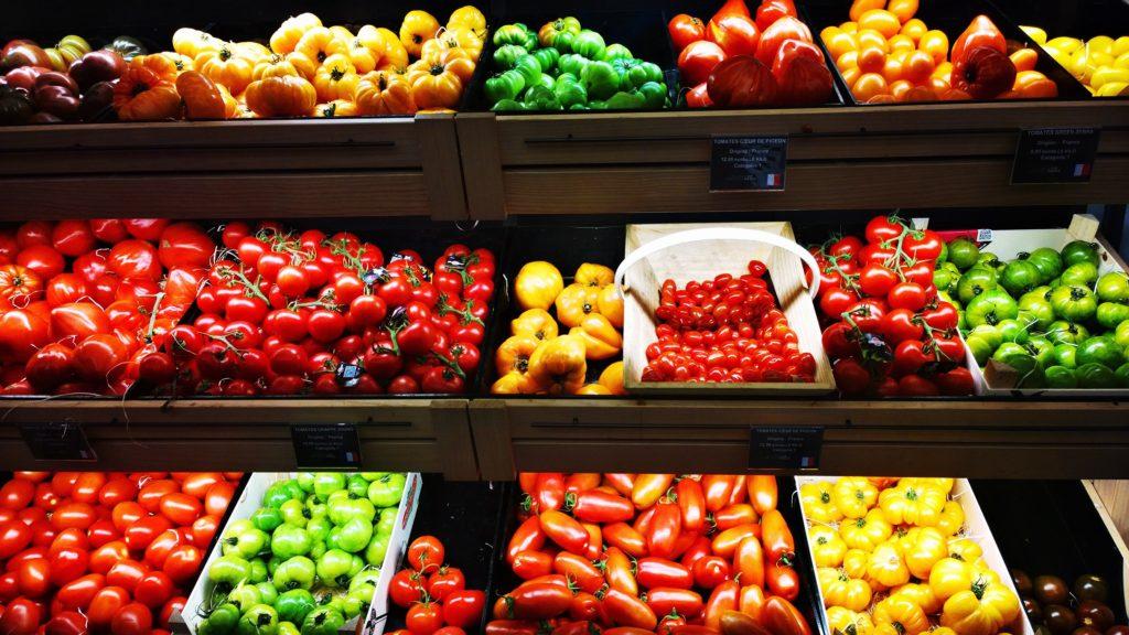fruits et légumes après le confinement