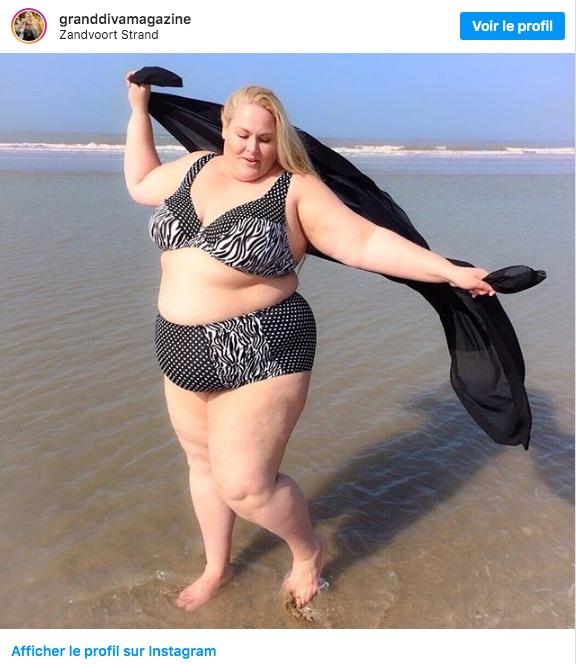 Anne Marie a le corps et la plage, elle a un beach body :)