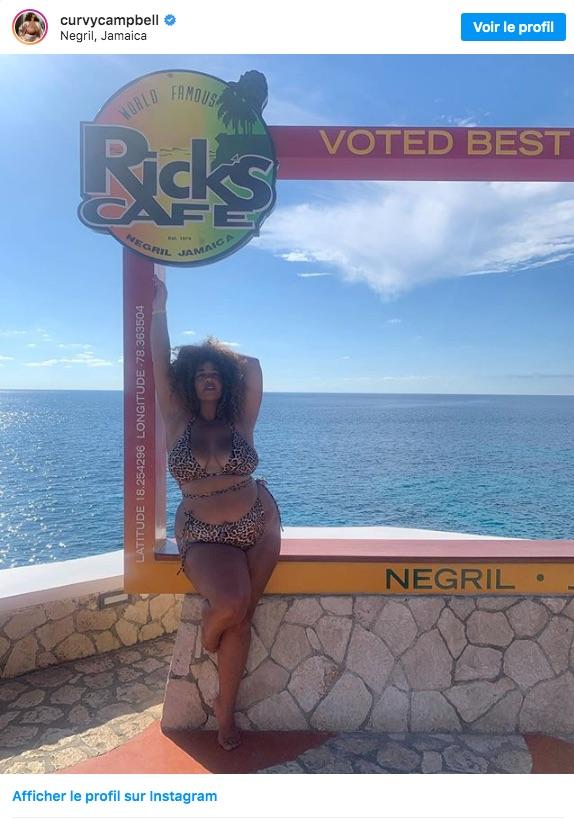 Olivia Campbell est somptueuse en bikini