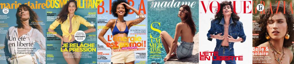 beach body ou pression sur l'image des femmes avec 6 couvertures de magazines populaires féminins en juillet 2020
