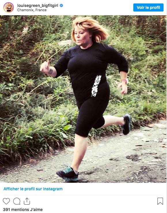 Louise Green fait des marathons, et alors !