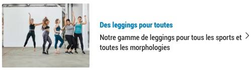 hypocrisie body positive avec des leggings pour tous